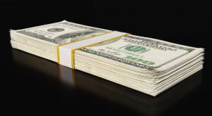 100 Dollars Money Stack 3D Model