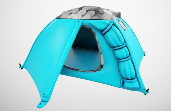 2 Man Small Tent 3D Model