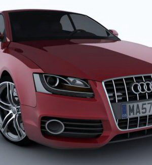 2011 Audi S5 3D Model