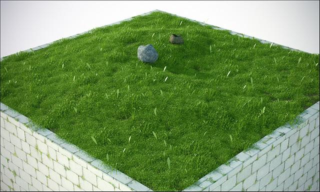 Grass Scene Free C4d Models