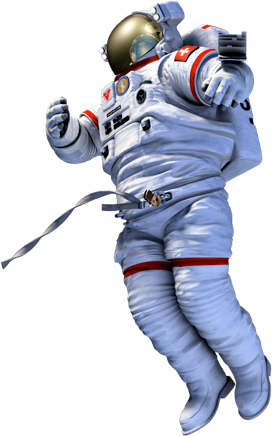 3d Free Astronaut Model With Textures C4d Download