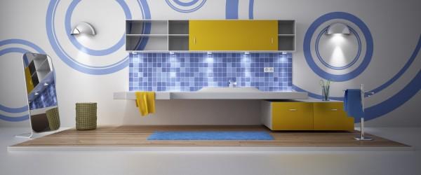 C4D: Free Vray bathroom scene by twistedpoly.com