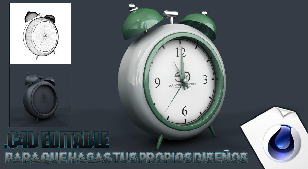 3d Classic Clock
