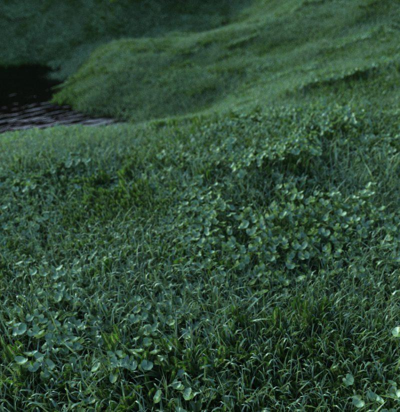 Cinema 4d Grass