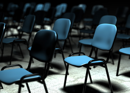 Free Conference chair Cinema 4D Model