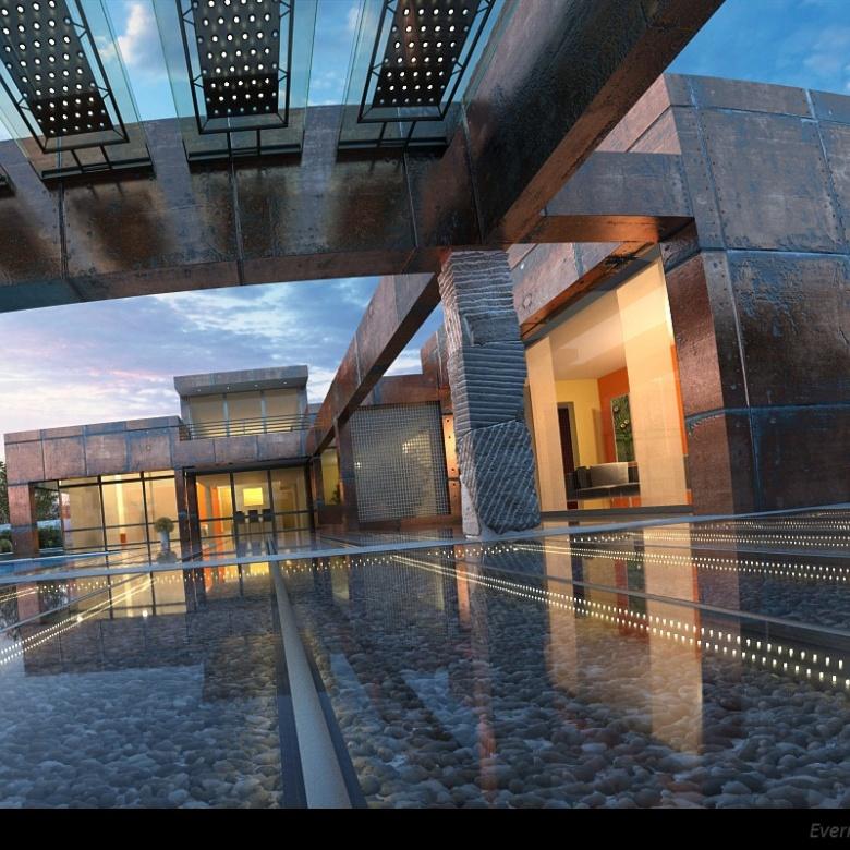 Vray Exterior Cinema 4d Scene 2 C4d Download