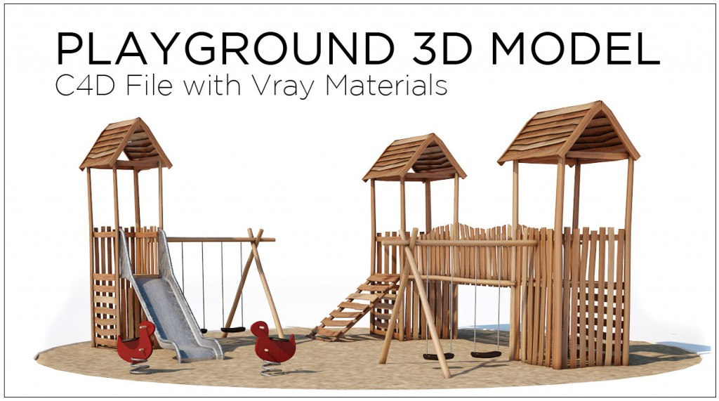 free playground cinema 4d model