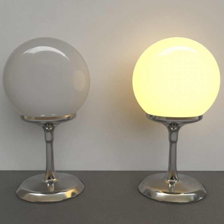 Lamp 2Sided Vray