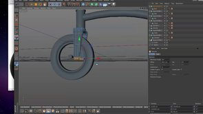 Tricyle on Cinema 4D