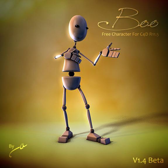 Boo C4D model