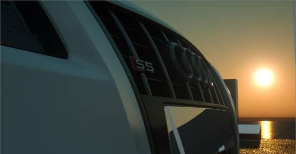 Free C4D Audi S5 3d model - Free C4D Models