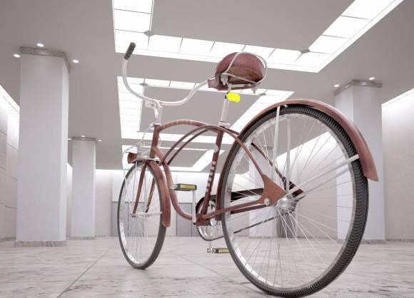 Free Cinema 4D Bike 3D Model