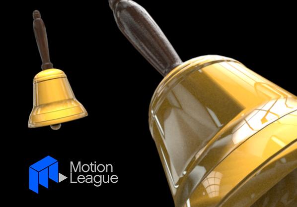 C4D Hand Bell Model