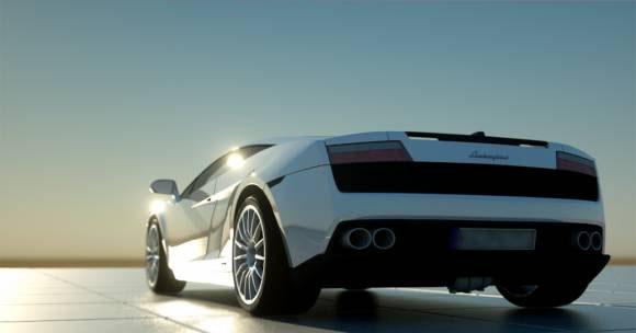 Free C4D Lamborghini Gallardo 3D model