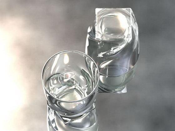 glass 3d model