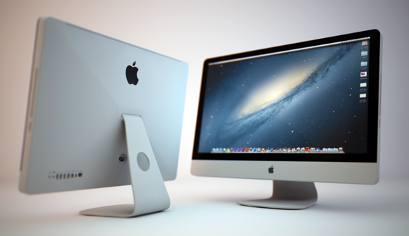Cinema 4D iMac 3D Model