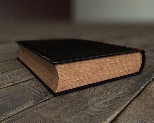 old book 3d model 2