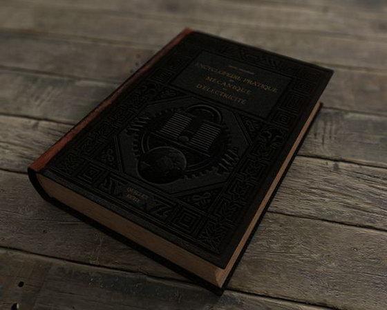 Cinema 4D Old Book 3D Model