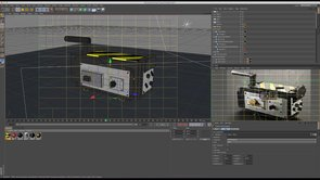 How to Texture a Ghostbusters Ghost Trap in Cinema 4D