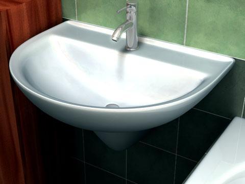 Washbasin 3D Model