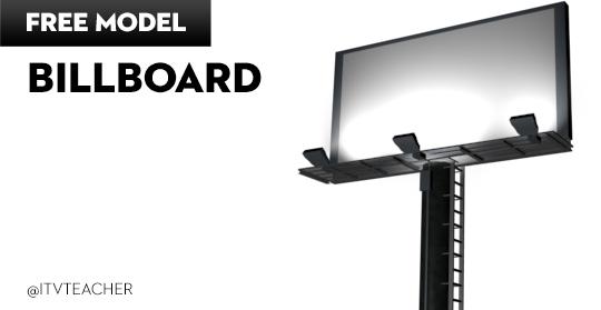 Bilboard 3d model