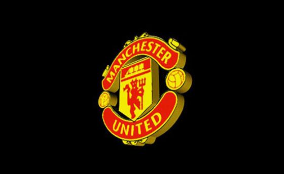 manchester united logo 3d model