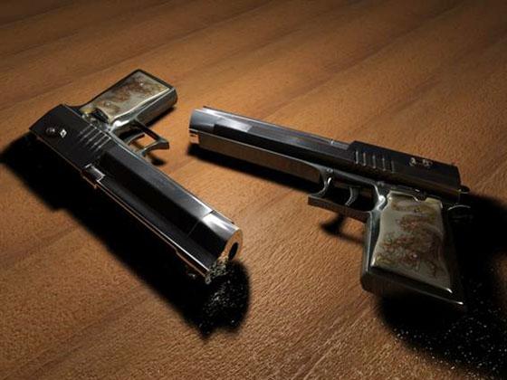 cinema 4d gun 3d model