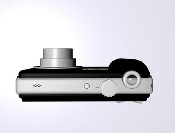 digital camera 3d model-2