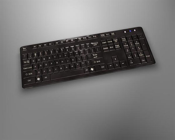 Cinema 4D Free Keyboard 3D Model