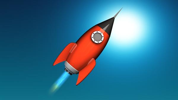 Free Rocket Ship 3D Model - Free C4D Models