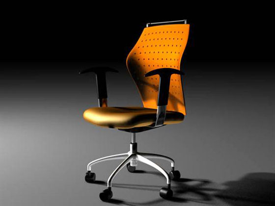 C4D Free Office Chair 3d model