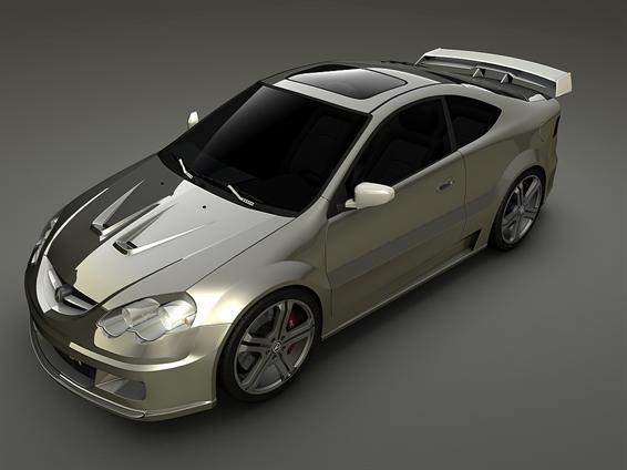 Acura RSX 3D model