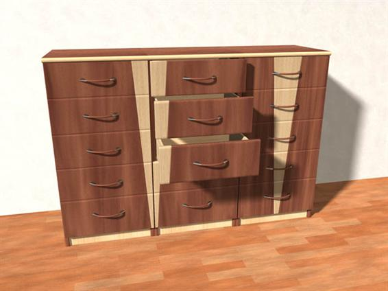 Cinema 4D Chest 3D Model
