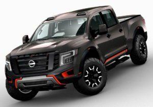 2017  Nissan Titan 3D Model