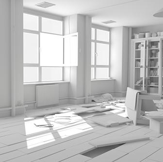Room Interior Scene