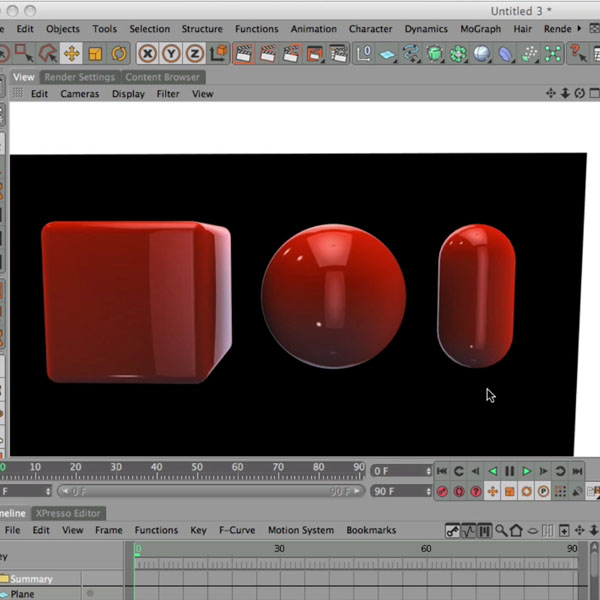 Texturing Objects and Lights in Cinema 4D