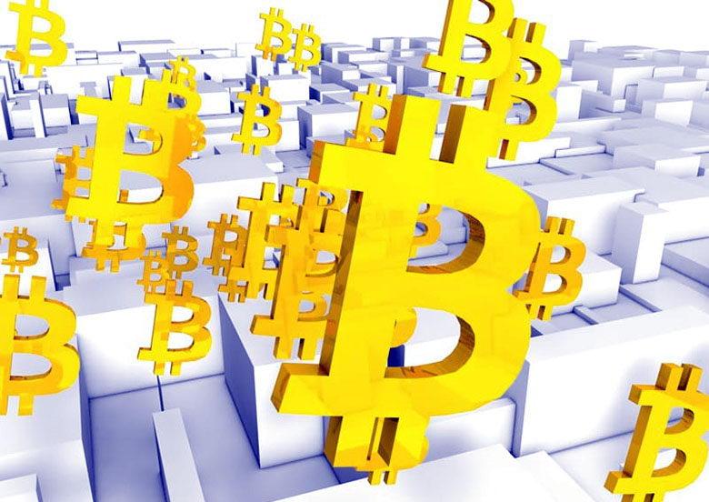 3D Bitcoin Amblem Model