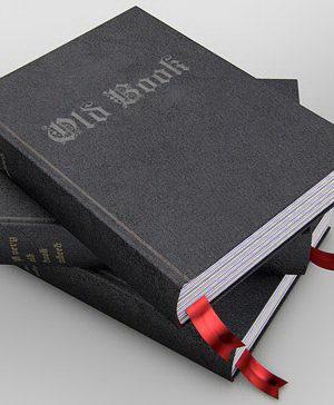 3D Black Books Model