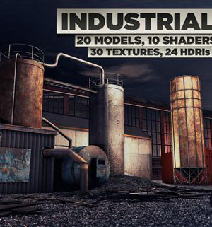 3D Industrial Pack Collection