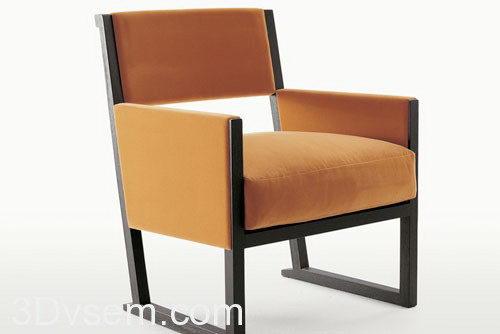 3D Model Armchair - C4D Download