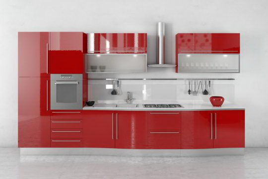 Modern Kitchen 3d Model C4d Download