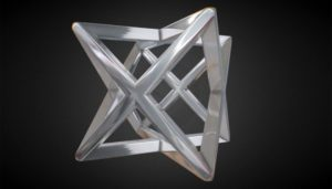 Abstract Star Shape 3D Model