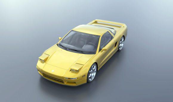 Acura NSX 3D Model