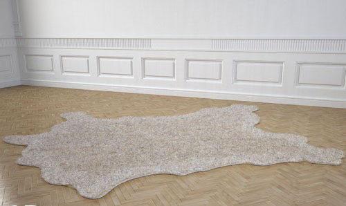 Animal Skin Carpet 3D Model