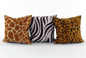 Animals Series Decorative pillows 3D Model