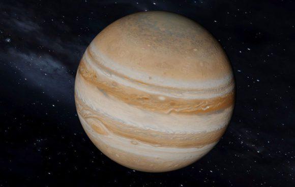 Animated Jupiter 3D Model
