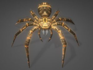 Animated Spider Free 3D Model