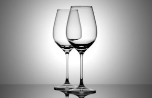 Animated Wine Glass 3D Model