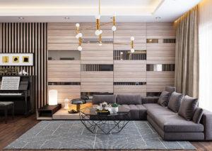 Apartment Design 3D Interior Scene