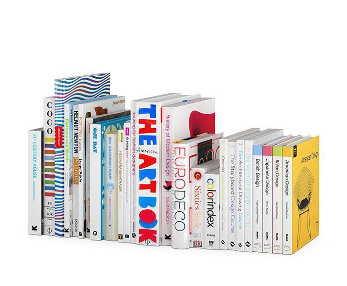 Art Books 3D Model